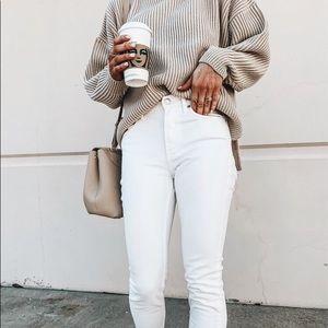 H&M slim fit white sz 29 stretch Jeans
